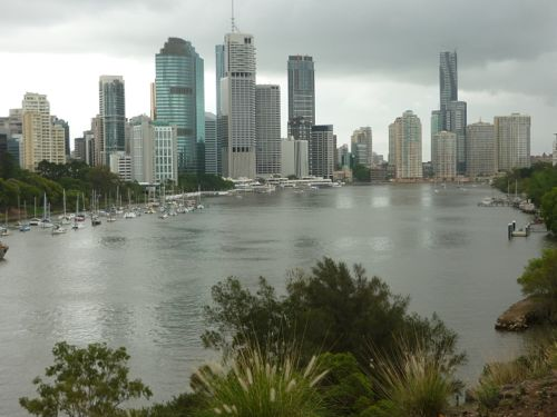 Brisbane City from Kangaroo Point