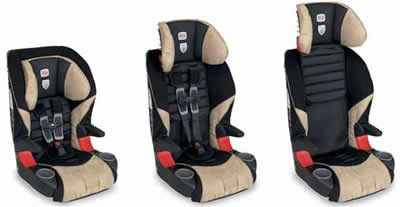 Britax Frontier 85 Car Seat - Adjustable Heights