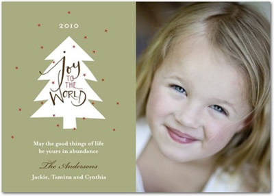 Christmas Cards - Sparkling Joy