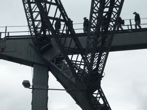 Climbing Story Bridge