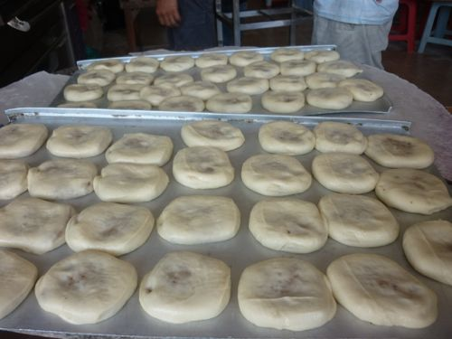 Eng Hin biscuits - before baking