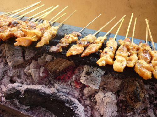 Grilling Satay Kopitiam Kita