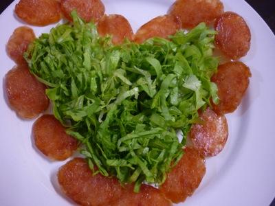 Heart-Shaped Lettuce
