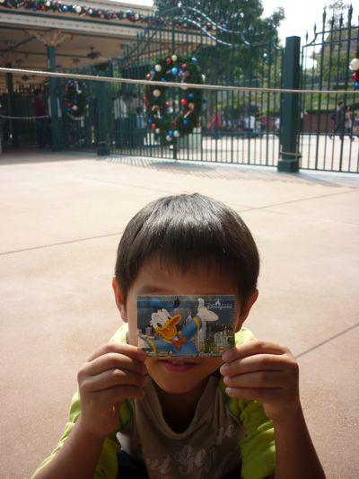 K at Hong Kong Disneyland Entrance