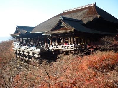 Kiyomizu Temple Kyoto - Main Hall