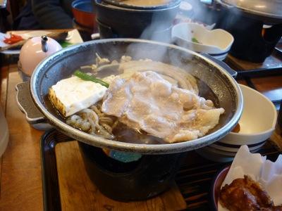 Lunch near Kawaguchiko