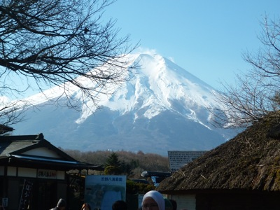 Mount Fuji from Oshino Hakkai