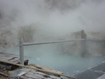 Owakudani Boiling Water