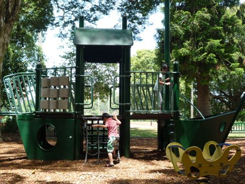 Playground at City Botanic Gardens