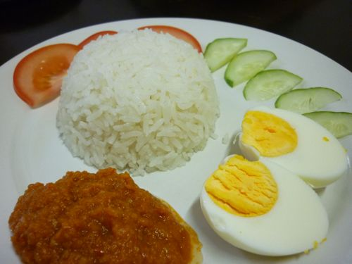 Thermomix Nasi Lemak and Sambal
