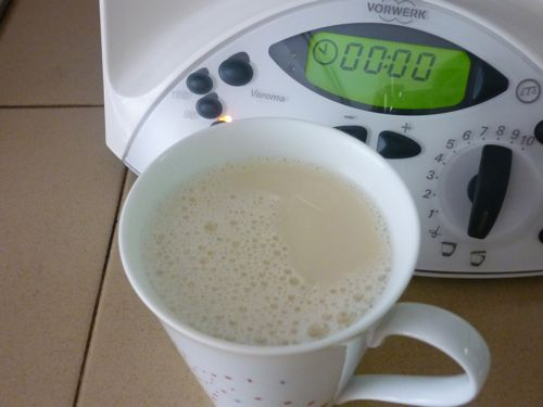 Thermomix Soy Bean Milk