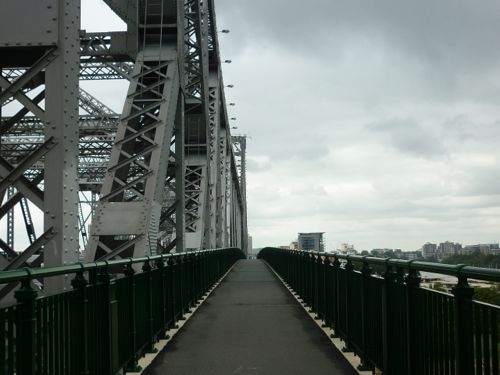 View on the Story Bridge
