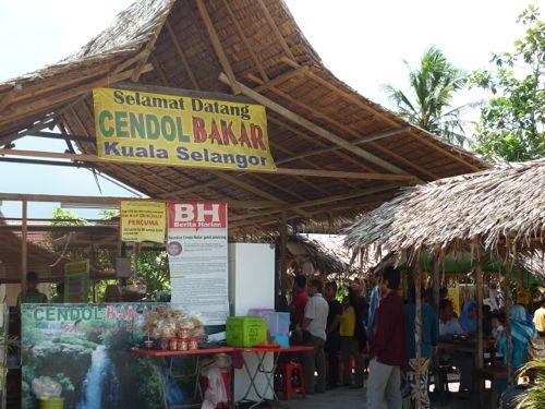 Cendol Bakar Stall Kuala Selangor