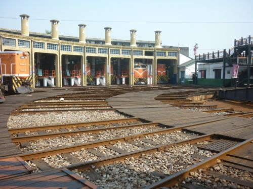 Changhua Fan Shaped Train Station