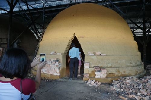 New kiln is built