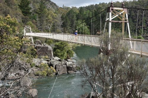 Cataract Gorge Suspension Bridge