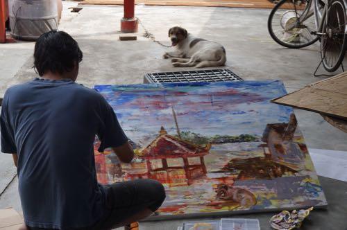 Indonesian artist