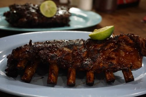 Naughty Nuri's Warung pork ribs