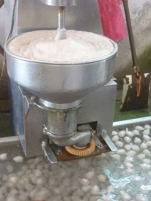 Fish Ball Making