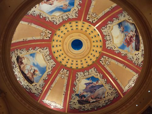 Impressice dome - Venetian Macau Hotel