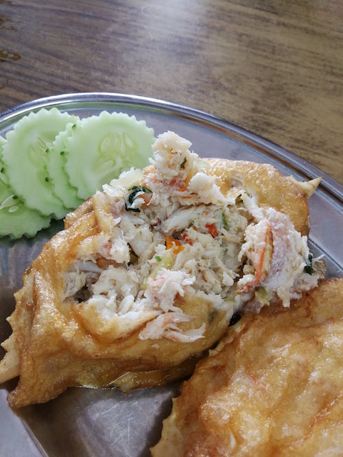 Stuffed Crabs of Restoran Tong Juan, Kemaman
