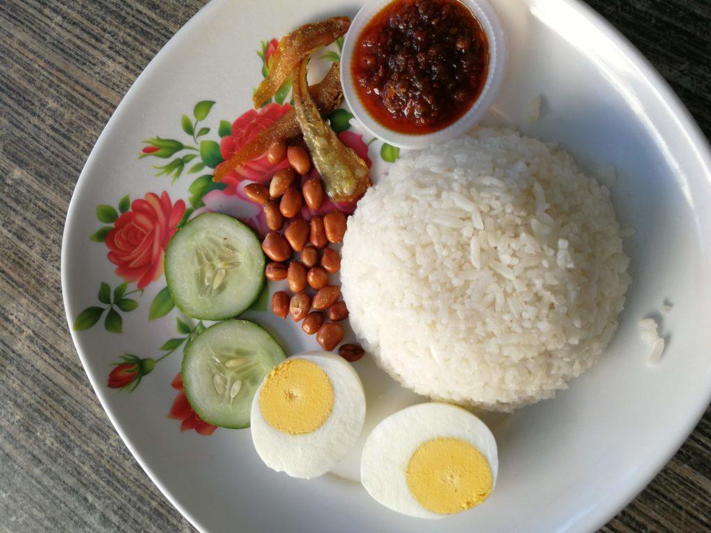 Nasi lemak Kuching