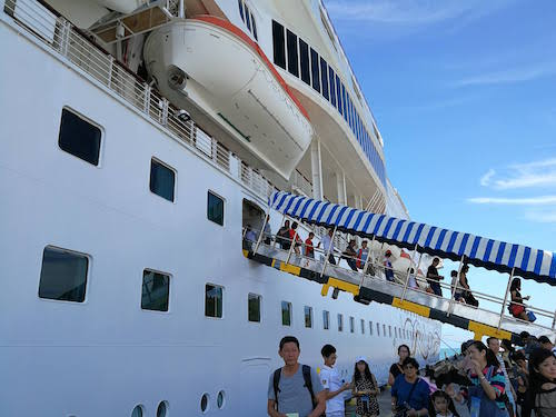 Star Cruises SuperStar Gemini: Disembarkation in Langkawi