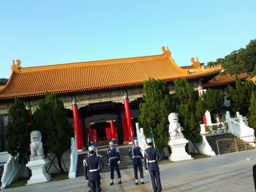 National Revolutionary Martyrs' Shrine: Change of Guards