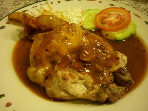 IT Roo Cafe Johor - chicken chop
