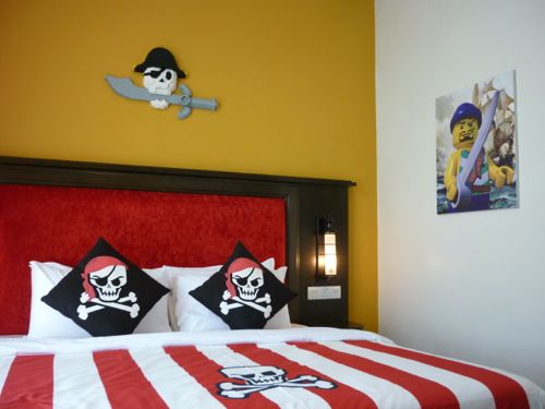 Legoland Malaysia Hotel - Pirate-Themed Room