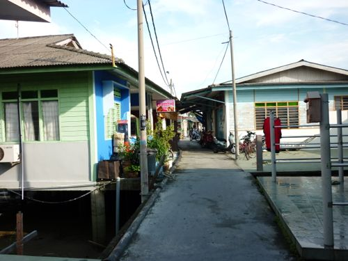 Kukup Laut Fishing Village
