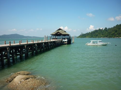Pangkor Island Beach Resort Jetty