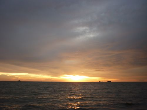 Pantai Jeram Kuala Selangor sunset