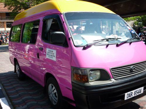 Pink Taxi Pangkor