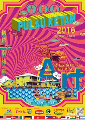 Pulau Ketam International Art Festival 2016