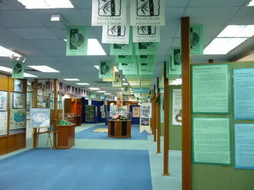 Rimba Ilmu - Exhibition Hall
