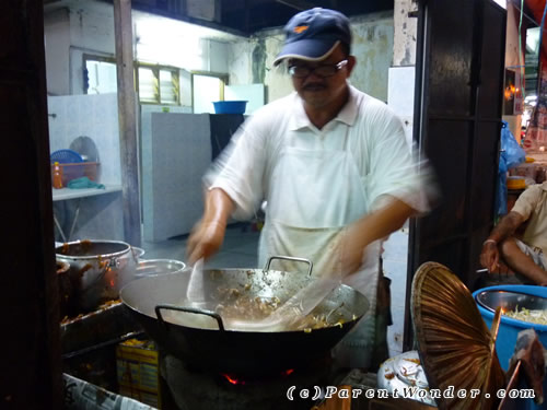 Sitiawan Charcoal Fried Kuey Teow - The Cook