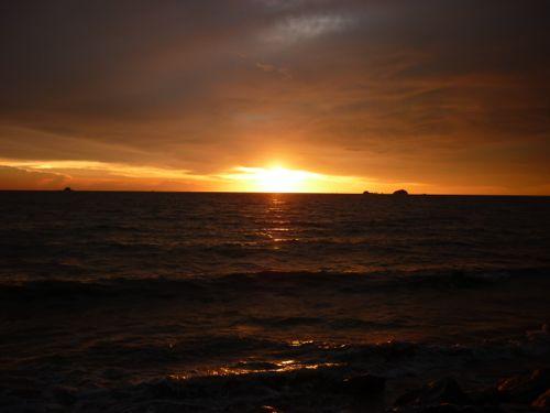 Sunset Pantai Jeram 1