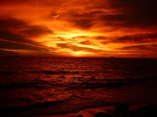 Sunset Pantai Jeram 3