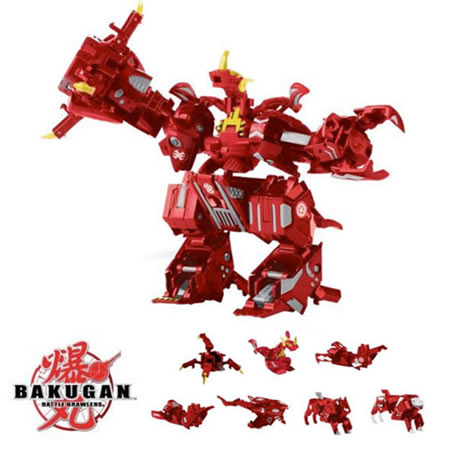 Bakugan 7-in-1 Maxus Dragonoid