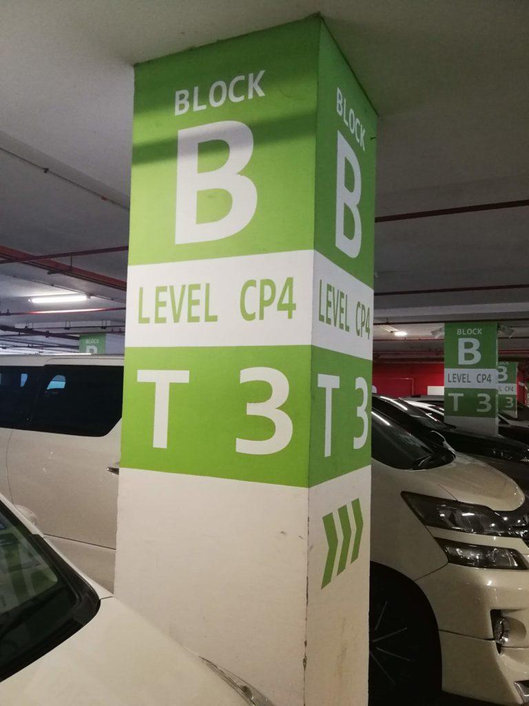 KLIA2 car park
